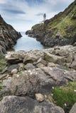 Faro, testa di Fanad, Irlanda fotografia stock libera da diritti