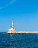 Faro veneciano en Chania Imágenes de archivo libres de regalías