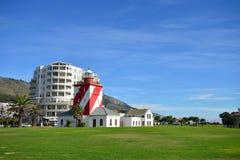Faro verde del punto Fotos de archivo