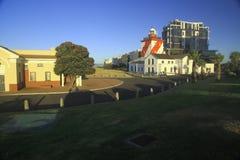 Faro verde del punto, luz del día (iii) Foto de archivo libre de regalías