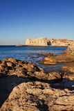Faro viejo de la ciudad de Dubrovnik Foto de archivo