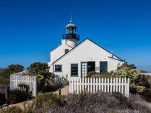 Faro viejo del Point Loma Fotos de archivo libres de regalías