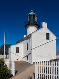 Faro viejo del Point Loma Fotografía de archivo libre de regalías