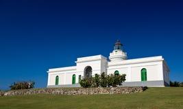 Faro viejo en el cabo San Juan Imagen de archivo libre de regalías