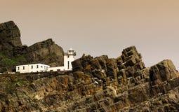 Faro viejo en Skellig Michael, Irlanda foto de archivo libre de regalías