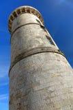 Faro viejo Ile de re Francia del DES Baleines de PHARE Imagenes de archivo