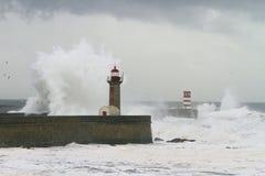 Advertencia de la tormenta Foto de archivo libre de regalías