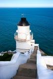 Faro y mar Fotografía de archivo libre de regalías