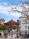 FARO, ZUIDELIJKE ALGARVE/PORTUGAL - 7 MAART: Mening van Bandstan stock foto's