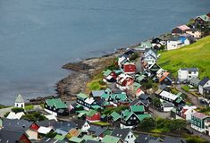 Faroe Stock Image