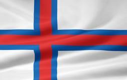 faroe flaga Zdjęcie Stock