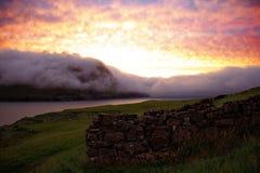 Faroe Island Royaltyfria Foton