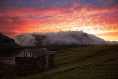 Faroe Island Arkivfoton