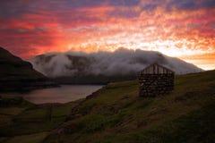 Faroe Island Royaltyfri Fotografi