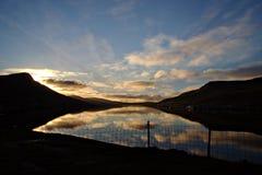 Faroe Island Arkivfoto