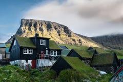 Faroe Island Gasadalur fotografía de archivo