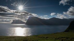 Faroe Island Kalsoy fotografía de archivo libre de regalías