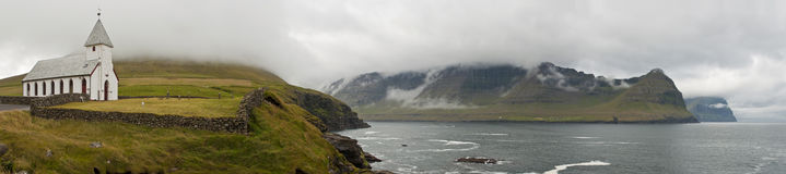 Faroe Island landscape Royalty Free Stock Photos