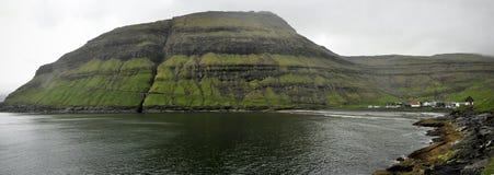Faroe island Tjornuvik landscape Stock Image