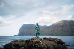 A siren legend in the Faroe Islands