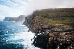 A typical seaside in the Faroe Islands