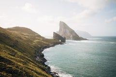 Drangarnir, a spectacular rock in the Faroe Islands