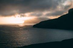 Sunset over the Faroe Islands