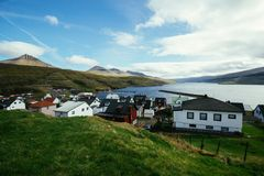 A typical view in the Faroe Islands