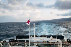 A ferry in the Faroe Islands