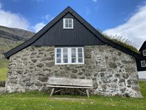 Faroe Islands and the houses there are amazing this one is from Saksun.