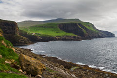 Faroe islands landscape. Royalty Free Stock Images