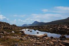 Faroe Islands. Mountains in the Faroe Islands Royalty Free Stock Photography