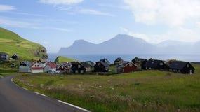 Faroe Islands, view on Gjogv