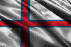 Faroe islnads symbool van de vlag 3D illustratie 3D Faroe islnads vlag Royalty-vrije Stock Foto's