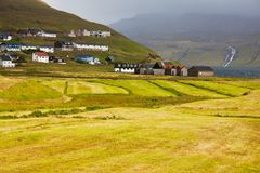 Faroe landscapes Stock Image