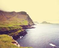 Faroe landscapes Royalty Free Stock Image