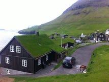 Faroe wyspa Obrazy Royalty Free