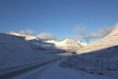 Faroeen Island Royaltyfri Fotografi
