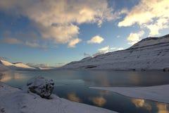 Faroeen Island Arkivfoto