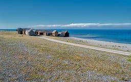 Faroeiland in de Oostzee Stock Afbeeldingen