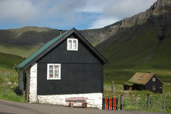 Faroese houses Royalty Free Stock Photo