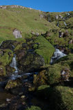 Faroese Waterfall. Waterfall on Eysturoy - Faroe Islands Royalty Free Stock Photography