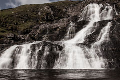 Faroese Waterfall. Waterfall on Streymoy - Faroe Islands Royalty Free Stock Image