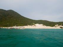 Farol海滩在Arraial做Cabo 免版税库存图片