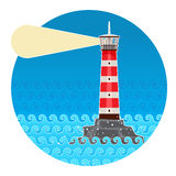 Farol Foto de Stock Royalty Free