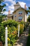 Farol & jardins Fotos de Stock