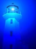 Farol azul Foto de Stock