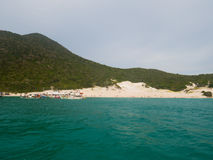 Farol Beach in Arraial Do Cabo Royalty Free Stock Images