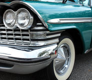 Farol clássico do carro Fotos de Stock Royalty Free