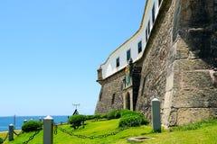 Farol da Barra Barra Lighthouse in Salvador, Bahia, Brazil. stock images